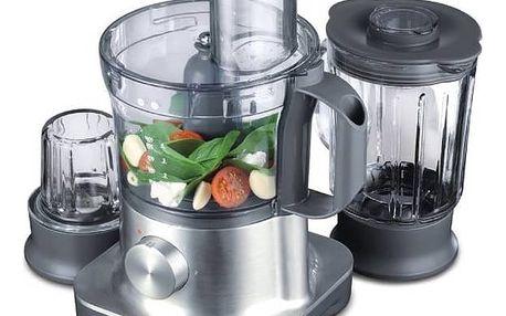 Kuchyňský robot Kenwood MultiPro FPM260 stříbrný + Doprava zdarma