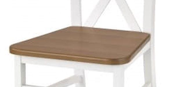Dariusz 2 - Jídelní židle (bílá, olše)