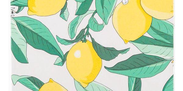 Woouf! Notýsek Lemon A6, zelená barva, žlutá barva, papír