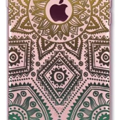 Kryt na iPhone - barevná mandala