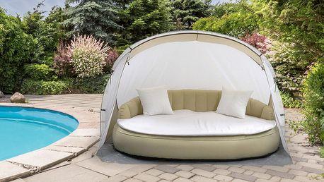 Luxusní nafukovací zahradní pohovka včetně pumpičky