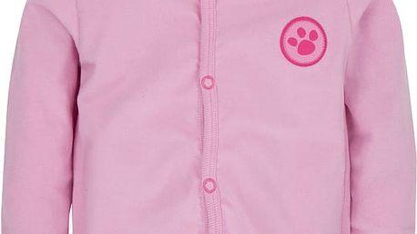 G-MINI Prima Kabát Pejsek D (vel. 62) - růžová