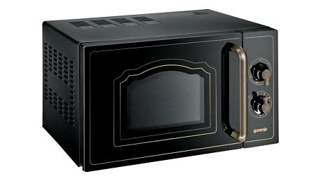 Mikrovlnná trouba Gorenje MO 4250 CLB černá + Kryt Jolly do mikrovlnné trouby v hodnotě 79 Kč + Doprava zdarma