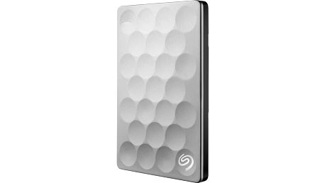 Seagate Backup Plus Ultra Slim 1TB, titanová - STEH1000200