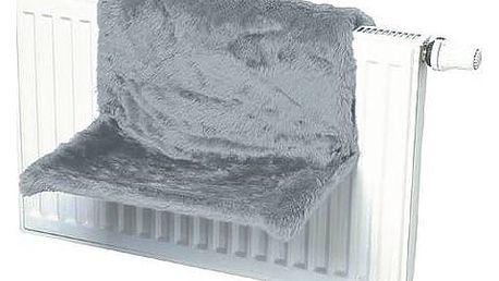 Odpočívadlo na radiátor šedé 1ks