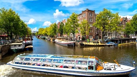 Amsterdam, sýry a malebný přístav Volendam