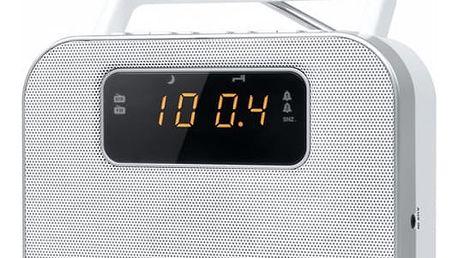 Radiopřijímač MUSE M-081 RW bílý