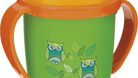 LOVI Hrníček nevylévací Hot&Cold 250 ml (12m+) - zelený