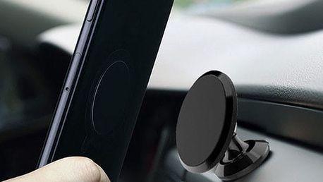 Magnetický držák do auta - 2 druhy / 4 barvy