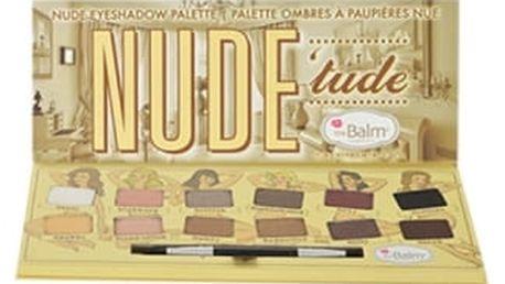 TheBalm Nude Tude Eyeshadow Palette 11,08 g oční stín pro ženy