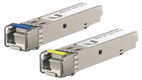 Ubiquiti Single-Mode optický modul SFP, 1Gbit, BiDi - sada 2 kusů - UF-SM-1G-S
