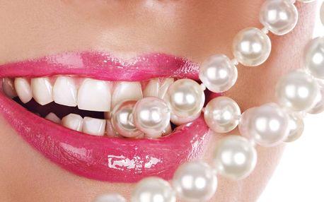 90% sleva na bělení zubů bez peroxidu