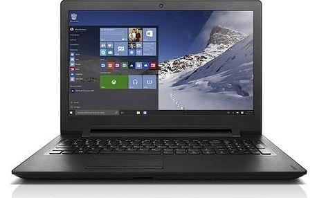 Notebook Lenovo IdeaPad 110-15ACL (80TJ00AJCK) černý Voucher Lenovo Zoner Photo Studio 18 Pro (zdarma)Software F-Secure SAFE 6 měsíců pro 3 zařízení (zdarma)Monitorovací software Pinya Guard - licence na 6 měsíců (zdarma) + Doprava zdarma
