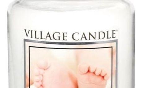 Village Candle Vonná svíčka ve skle, Pudrová svěžest - Powder fresh, 645 g, 645 g