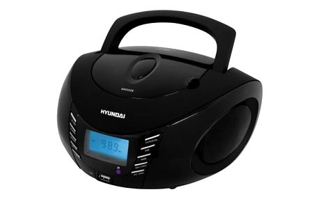 Radiopřijímač Hyundai TRC 282 DRU3 černý