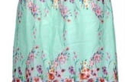 Letní květinové šatičky - varianta 1