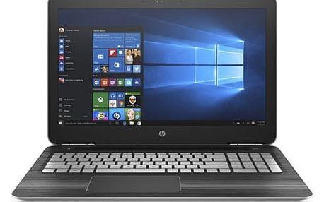Notebook HP Gaming 15-bc200nc (1GM75EA#BCM) černý/stříbrný