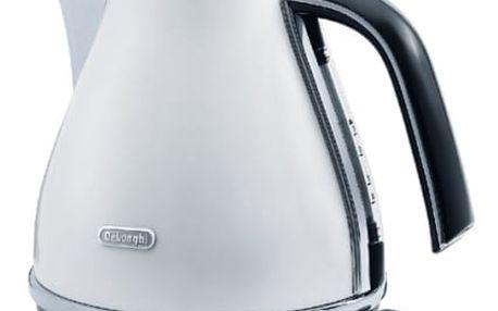 Rychlovarná konvice DeLonghi Icona KBO2001W bílá