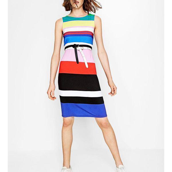 Desigual pruhované šaty Petra