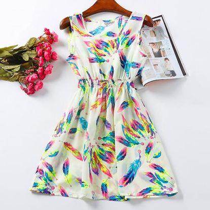 Rozmanité letní šaty - Vzor: 2 - Velikost: 2 - dodání do 2 dnů
