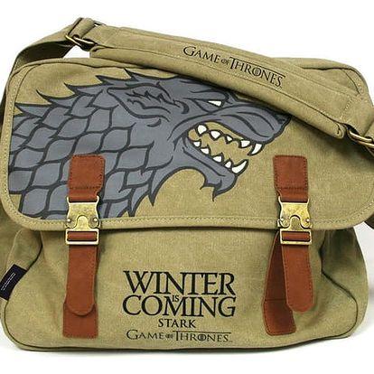 Game of Thrones - Stark Logo Messenger Bag - 8436541022973