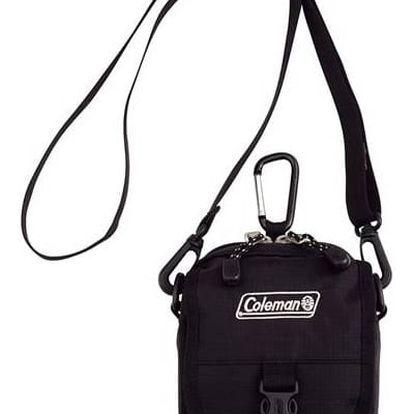 Taška přes rameno Coleman ZOOM - (1L, černá), 12 x 15 x 8,5 cm, 160 g, vhodná na doklady, mobil, klíče