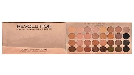 Makeup Revolution London Ultra Eyeshadows Palette Flawless 16 g oční stín W