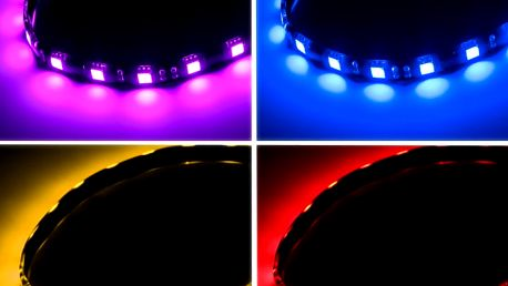 BITFENIX ALCHEMY 2.0 magnetická RGB-LED páska 30cm, 15 LED + ovladač - BFA-RGB-30MK15C-RP