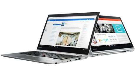 Lenovo ThinkPad X1 Yoga Gen 2, stříbrná - 20JF002AMC
