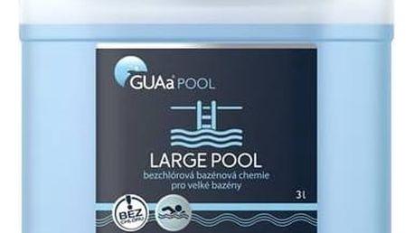 Bezchlórová chemie Guapex LARGE POOL 3 litry + Doprava zdarma