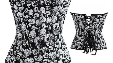 Korzet s lebkami gotický styl