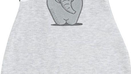JACKY Spací pytel Elephant, vel. 74/80 - šedá, Unisex