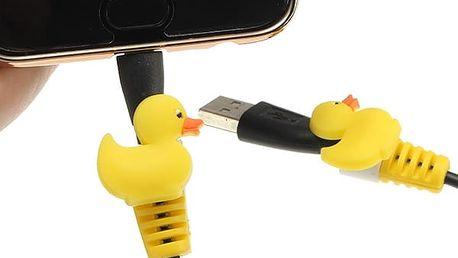 Roztomilá ochrana USB kabelu před ohýbáním - 6 variant