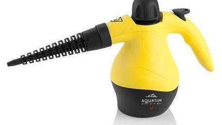 Parní čistič ETA Aquasim 1263 90000 žlutý + Doprava zdarma