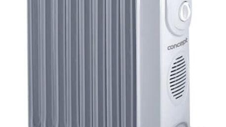 Olejový radiátor Concept RO-3109 šedý