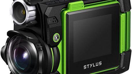 Olympus Outdoor TG-Tracker, zelená - V104180EE000 + Pouzdro Olympus Tracking Holder CSCH-125 pro TG-Tracker v ceně 690 Kč