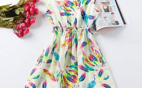 Rozmanité letní šaty - Vzor: 2 - Velikost: 2