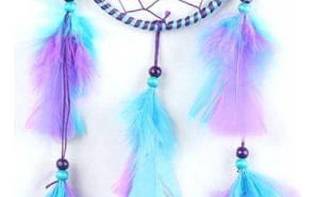 Lapač snů s peříčky - 3 barvy