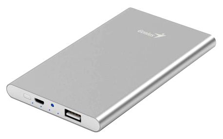 Genius powerbank ECO-u540, stříbrná - 39800016101