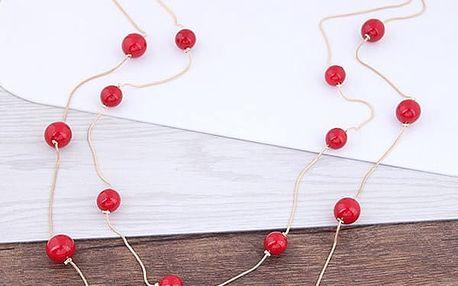 Náhrdelník s umělými perličkami