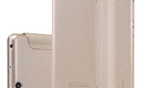 Nillkin Sparkle Leather Case pro Xiaomi Redmi 3/3S, zlatá - NIL119