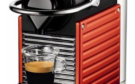 Espresso Krups Nespresso Pixie XN3006 černé/červené
