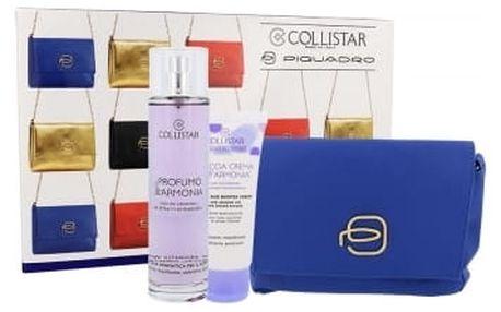 Collistar Benessere Dell´Armonia dárková kazeta pro ženy sprchový gel 50 ml + tělový sprej 100 ml + kosmetická taška