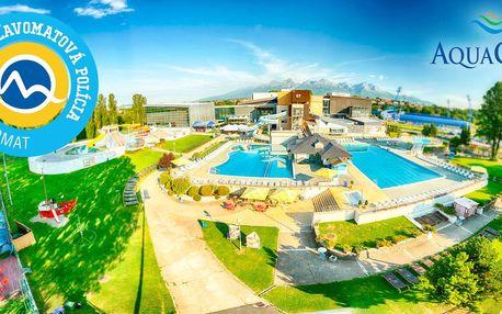 Zábava v aquaparku i wellness v AquaCity Poprad