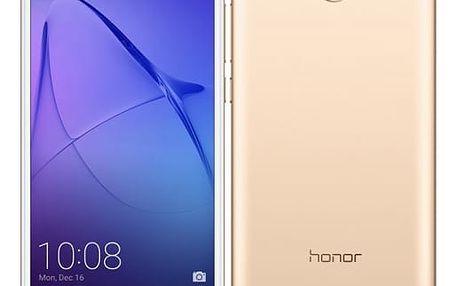 Mobilní telefon Honor 6A Dual SIM (51091UFW) zlatý