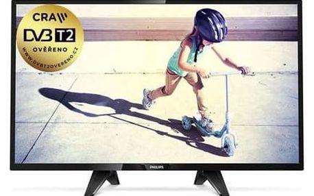 Televize Philips 32PFS4132/12 černá + Doprava zdarma