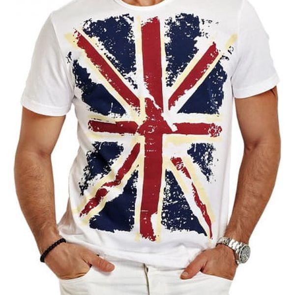 Pánské tričko s britskou vlajkou - 2 barvy