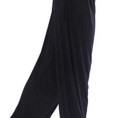 Dámské harémové kalhoty - Černá-velikost č. 5