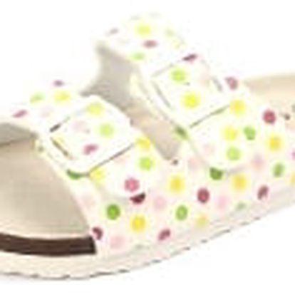 Dětské pantofle COMFORT STEP s koženou stélkou Bubble