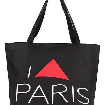 Taška přes rameno s motivy Paříže - 1